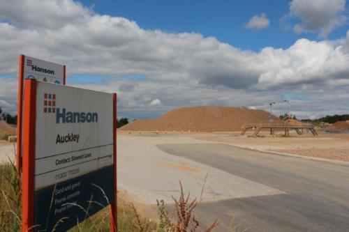 Hanson Quarry Auckley Hurst Lane